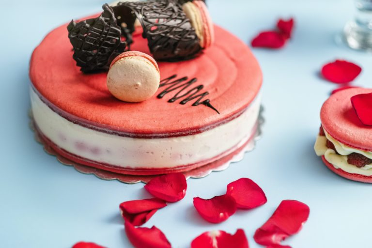 topping cake
