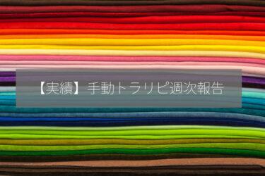 【第2週】1週間の手動トラリピ利益を公開します!(2021.03.29-2021.04.02)